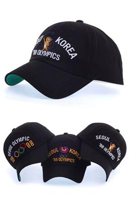 4743d31380b 1988 Seoul Olympic Flag Hodori Mascot Baseball Caps Hats Kpop Fashion Korean  Style