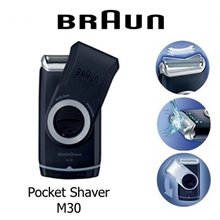 Braun M30 Mobile Shaver]mens travel portable  / 1 YEAR LOCAL WARRANTY SET / READY STOCKS AVAILABLE !