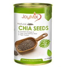 JOYMIX BIG SIZE CHIA SEEDS 400g (QUALITY AND HALAL)