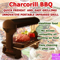 [Ready Stock in SG] Charcorill Infared Grill NO SMOKE NO FOO ODOR NO SPLATTERING of Oil on table!