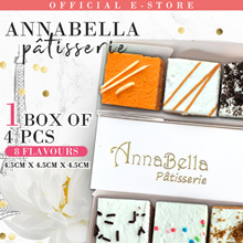 ❤4pcs Artisan Party Tea Cake Gift Box 4 Flavours in One❤8 Flavours❤