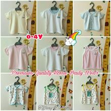 [TOP] RESTOCK *PREMIUM QUALITY Baby Clothes | 0-4Y | Top/Shirt/Short/Newborn/Toddler/Kids