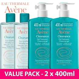[RESTOCK] *VALUE PACK 1+1* AVENE Cleanance Cleansing Gel Micellar Water oily blemish acne prone skin