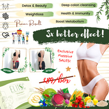 [NEW]CRAZY SALES!! Elitoc 3x Detox Enzyme 100% EFFECTIVE NON-LAXATIVE! 1 SACHET SLIM!