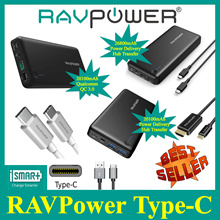 ★RAVPOWER★Type-C Power Banks and Cables★ Power Delivery Hub Transfer and Fast Charging for Type-C
