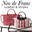 Neo de Franc Leather and Stripes Collection | TrendyOutlet