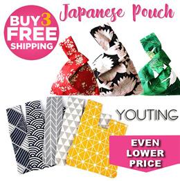 💕Teachers day gift 💕 / lunch bag / Japanese wristlet / drawstring pouch / handbag / sg-store / tot