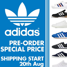 [ADIDAS] ★New arrivals★ Flat price 20 Type shoes collection / Free shipping / 100% Authentic