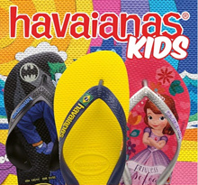 Havaianas Baby and Kids flip flops on sale ! 75% off !