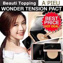 ★APIEU★ Wonder Tension Pact SPF 40/PA +++ (2 Type) (2 Colors) 13g [Beauti Topping]