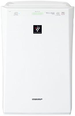[iroiro]샤프 플라스마(plasma) 클러스터7000탑재 스탠다드 공기 청정기 화이트 FU-G51-W