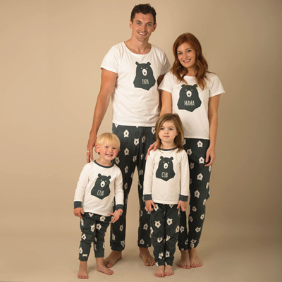 ... sells 906b3 6a1ce New Family Matching Christmas Pajamas Set Mum Dad  Kids Deer Sleepwear Nightwear ... ff5562af8