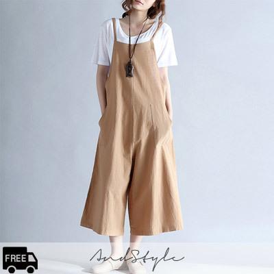 [AndStyle官方旗艦店] 寬版連身褲 235682