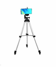 3110 Portable Adjustable Aluminum Lightweight Camera Stand with Three-Dimensional Head Tripod
