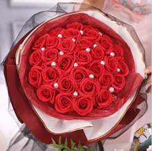 ❤Flower Bouquet Roses❤ Valentine Flowers/Mothers Day/Valentines/Proposal/Wedding/Graduation Red