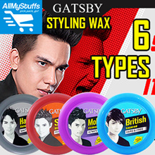 【Gatsby】Hair Styling Wax ● 6 Types available ● MAT n HARD/POWER n SPIKES/HARD n FREE/ULTIMATE n SHAGGY