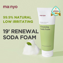 🖤RESTOCK🖤 [MANYO FACTORY] SODA FOAM / NON-IRRITATING 99.9% NATURAL WASH