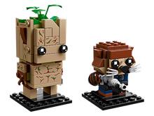 LEGO 41626 Brick Headz: GROOT and ROCKET