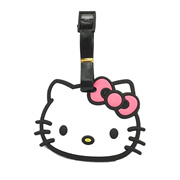 LIMITED EDITION HELLO white KITTY LUGGAGE TAG