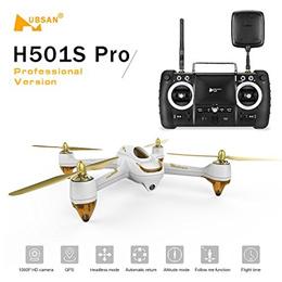 [iroiro]GoolRC Hubsan H501S Pro X4 5.8G FPV브러시 레스 드로(draw)1080P카메라 부착 10채널 리모트 콘트롤GPS