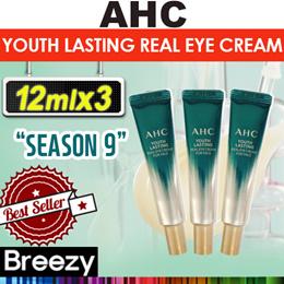 [AHC] season 9 A.H.C-Youth Lasting Real Eye Cream For face 12mlx3 / 30ml
