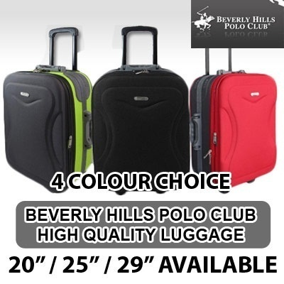 463ea6e4418e Beverly Hills Polo Club Luggage  Choose from 5 Colours to Suit Your Travel  Style.