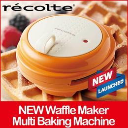 SMILE BAKER / Multi Baking Machine Compact Pancake Waffle Maker Cooker Hot Plate