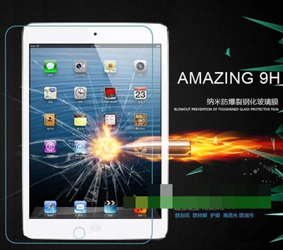 Apple iPad Mini 1 2 3 4 9H Tempered Glass Screen Protector @Round Edge