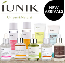 ❤ USE $12+$12 COUPONS!!!❤ [IUNIK] KOREA NATURAL HIT SERUMS / BETA GLUCAN / TEA TREE
