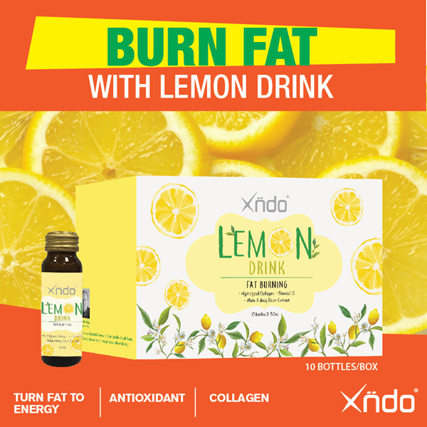 Fat Burning Lemon Drink Deals for only S$89.9 instead of S$0