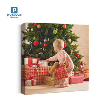 """12""""x 12"""" Personalised Square Canvas from Photobook Malaysia"""