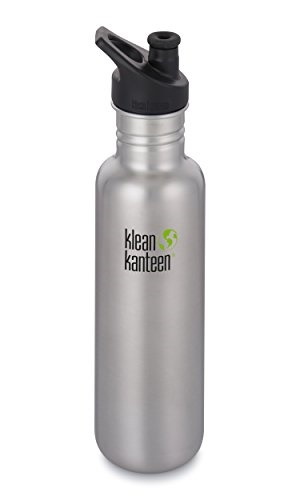 5c0a64e66a Klean Kanteen 27oz Classic Stainless Steel Water Bottle Single Wall with  Leak Resistant Sport Cap 3