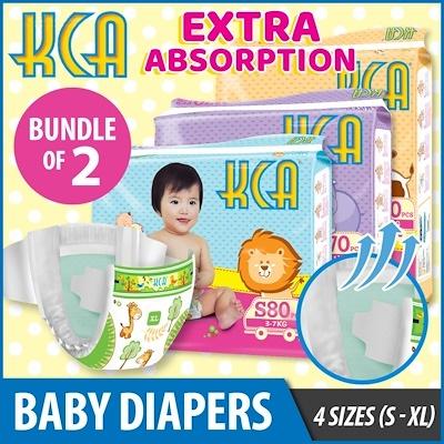 SCANPAP BUNDLE OF 2 KCA Baby DiapersBoys Girls