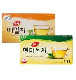 [Dongsuh] KOREA green tea 100T buckwheat TEA health beauty traditional tea k drama