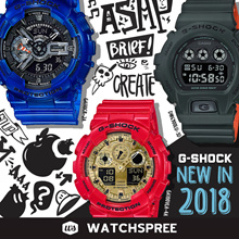 *CASIO GENUINE* G-SHOCK NEW IN 2017/2018 NEW MODELS COLLECTION. Free Shipping and Warranty Included.