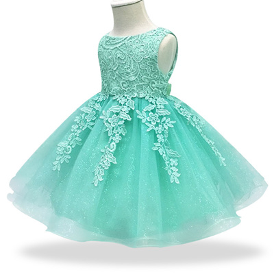 0be294e88bcc9 2018 Kids Tutu Birthday Princess Party Dress for Girls Infant Lace Children  Bridesmaid Elegant Dres