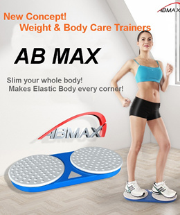 AB MAX Turbo Twister /New Concept Aerobic body exercise machine/Body Diet/Slim Beauty Body