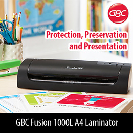 GBC Fusion 1000L A4 Laminator protection Preservation and Presentation