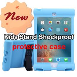 Kids Stand Shockproof protective case for ipad mini retina/ipad 234 air