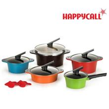 Happy call Alumite Ceramic (5Pots) SET / Made in Korea / pot set Ceramic Pot / happyca