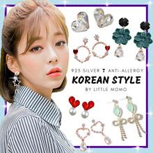 LITTLE MOMO ❤️ 925 SILVER EARRINGS ANTI-ALLERGY ❤️ KOREAN DESIGNS