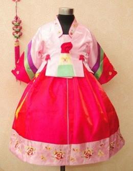 [HANBOK] KOREAN TRADITIONAL CLOTHES FOR GIRL