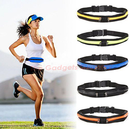 Running Sport Pouch Belt Waist Bag Elastic Waterproof Exercise Gym FREE SHIPPING SG Seller