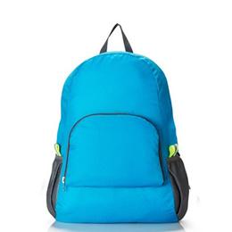 05b8cb35e450 COUPON  portable casual travel backpacks zipper soild nylon back pack daily  traveling women men shoulder