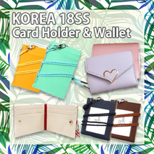 [Local Delivery💗] RESTOCK! ★KOREA HIT★ID Card Leather Card Wallet / Card Holder / Lanyard / Wallet