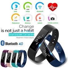 AirGear ID115 LITE Smartband Fitness Tracker Smart Watch Wristband Android IOS