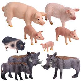 Villa garden decorations outdoor garden animal sculpture simulation pig lucky pig ornaments resin