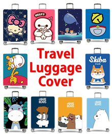Travel Luggage Bag Protector Cover / High Quality Elastic Luggage Protector Cover[Fast Delivery]