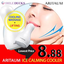 ★100P Limited Sale★[ARITAUM] Ice Calming Cooler / Face Massage / Shaping Facial Lift / Cooling