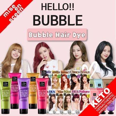 Qoo10 New Arrival Mise En Scene Hello Bubble Hair Dye Series